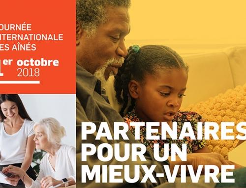 Le 1er octobre, c'est la journée internationale des aînés!